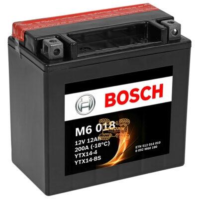 Аккумулятор BOSCH 152X88X147 0092M60180, YTX14-BS (Левый +)