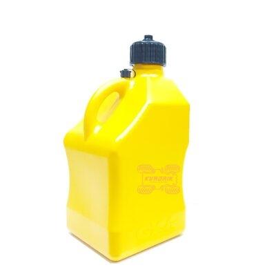 Канистра GKA Racing 20л для быстрой заправки, цвет желтый для квадроцикла или внедорожника GKA-CAN-20L-YLW
