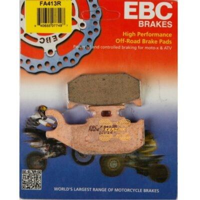 Передние левые тормозные колодки EBC (синтетика) для квадроцикла SUZUKI KING QUAD 400/450/500/700/750 FA413R (DB2163)