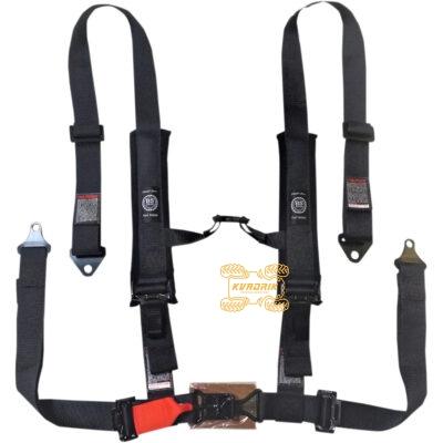"""Ремни безопасности для багги, авто 4-ти точечные 2"""" (черный) BS SAND 4510-1440, 4PNT2INLA"""