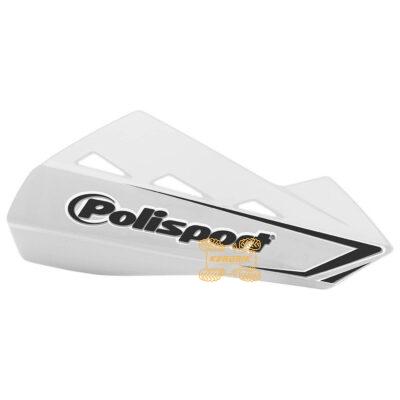 Защита рук для квадроциклов Polisport QWEST с креплениям. Цвет белый 8304200044, 0635-1272