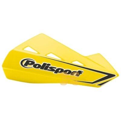 Защита рук для квадроциклов Polisport QWEST с креплениям. Цвет желтый 8304200047, 0635-1275