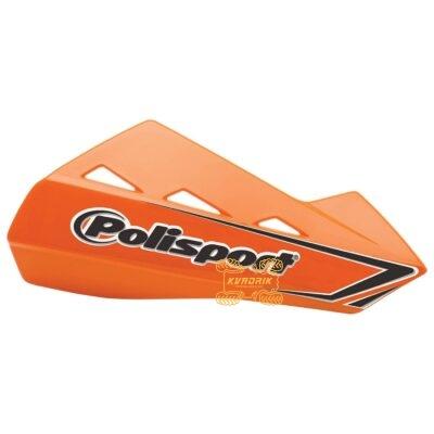 Защита рук для квадроциклов Polisport QWEST с креплениям. Цвет оранжевый 8304200048, 0635-1276