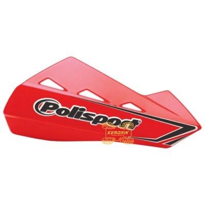 Защита рук для квадроциклов Polisport QWEST с креплениям. Цвет красный 8304200049, 0635-1277