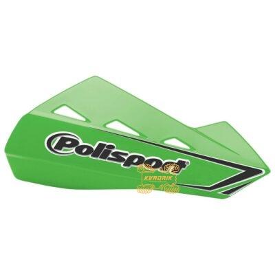 Защита рук для квадроциклов Polisport QWEST с креплениям. Цвет зеленый 8304200050, 0635-1278