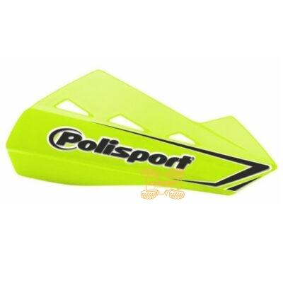 Защита рук для квадроциклов Polisport QWEST с креплениям. Цвет салатовый  8304200054, 0635-1611