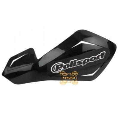 Защита рук для квадроциклов Polisport Free Flow Lite с креплениям. Цвет черный 8305800093, 0635-1312