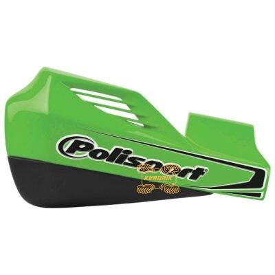 Защита рук для квадроциклов Polisport с креплениям. Цвет зеленый 8306400035, 0635-1357