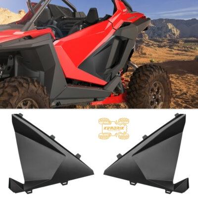 Нижние панели дверей пластиковые X-ATV для багги Polaris RZR PRO 2020+   FTVDI-00301BK