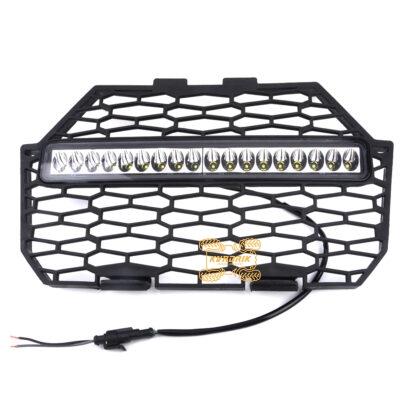 Решетка радиатора с фарой X-ATV для UTV Polaris RZR 1000 900 (2014+)  HS002, 5439788-070