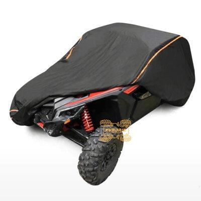Чехол на квадроцикл ATV камуфляжный (лес)  XXXL  (340x185x153см)   POK-00101BK