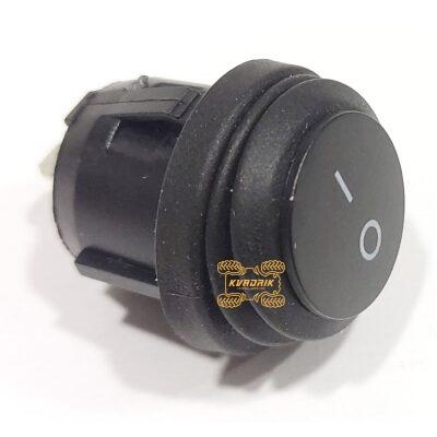 Влагозащищенный переключатель для дополнительных фар и прожекторов, цвет черный