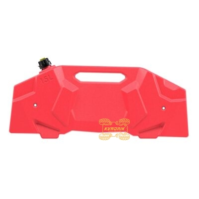 Канистра Tesseract экспедиционная 15л, цвет красный для квадроцикла Polaris Sportsman 1000 XP