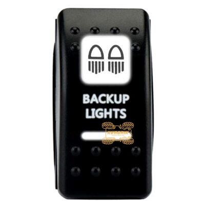 """Переключатель X-ATV """"Buckup Lights"""" для фар под врезку в панель приборов UTV или внедорожников SW013"""