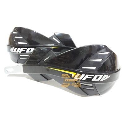 Защита рук для квадроцикла UFO Hand Guards с алюминиевым креплением. Цвет черный PM01653001