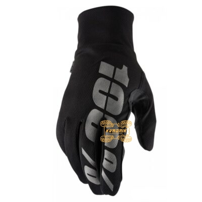 Зимние перчатки RIDE 100% BRISKER Hydromatic Waterproof Glove [Black]