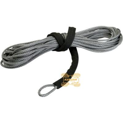 Синтетический трос Warn серый 5мм 15м для лебедок 2500-4000 lbs 4505-0343, 80831