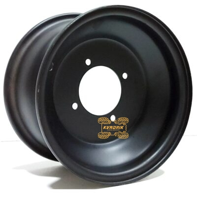 "Диск металлический передний черный 8"" на квадроцикл MaxQuad 8x5 3+2 4/87 ATV-225"