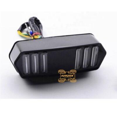 Универсальный многофункциональный задний фонарь (задний фонарь + стоп + поворотники)  LED-TL-T005