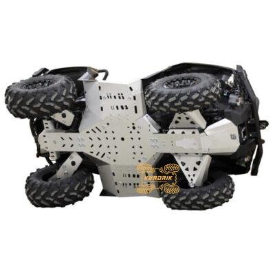 Алюминиевая защита днища IronBaltic для квадроцикла Can Am Outlander G2 1000/800/650/500 MAX (2019+) 02.23600