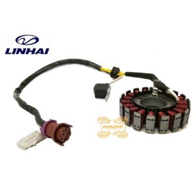 Оригинальный статор для квадроцикла Linhai 400 27450