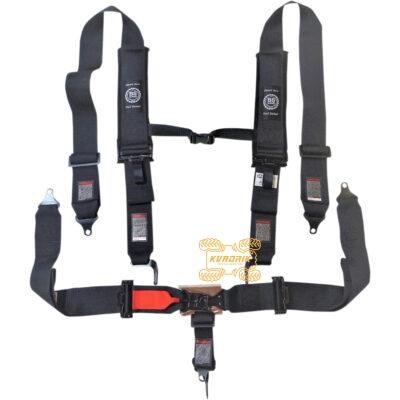 """Ремни безопасности для багги, авто 5-ти точечные 3"""" (черный) BS SAND 4510-1441, 5PNT3INLA"""