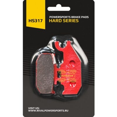 Тормозные колодки Rival для квадроциклов и багги Can Am Outlander G1, Renegade G1, DS, Traxter; Suzuki 500 HS317