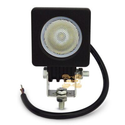 Прожектор, фара для квадроциклов, багги, джипов, внедорожников — LED-10W 10W 5см ближний свет