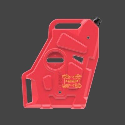 Канистра Tesseract 12.5L красная для кофра на Polaris HighLifter GKA-CAN-PO-HL