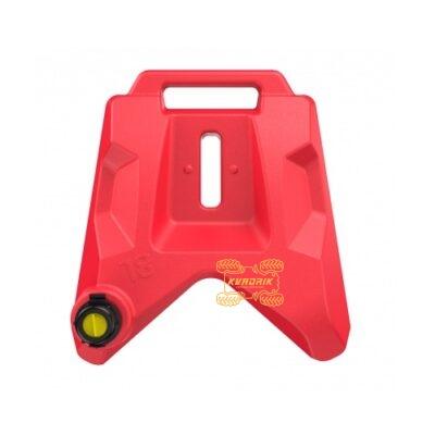 Канистра Tesseract 8L передняя красная для квадроцикла Polaris Scrambler