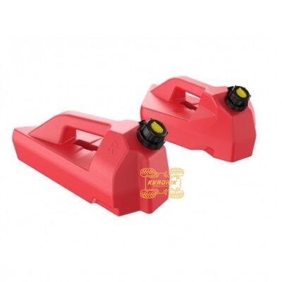 Канистры передние ПАРА Л/П 5L Tesseract красные для Can Am Outlander G2