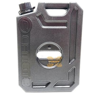 """Канистра Tesseract экспедиционная с логотипом """"CFMOTO"""" 5л, цвет черный для квадроцикла или внедорожника CF5L-BLK"""