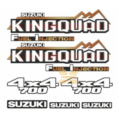 Комплект наклеек для квадроцикла Suzuki KingQuad 700 STI-SUZ-700-298