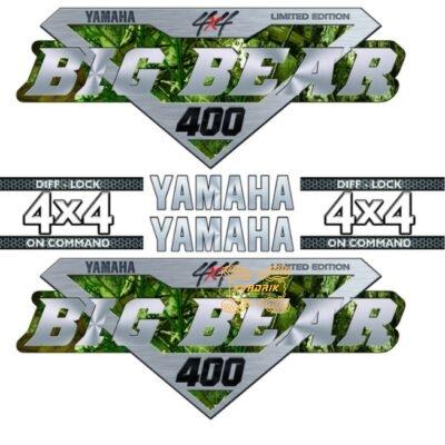Комплект наклеек X-ATV для квадроцикла Yamaha Big bear 400 STI-YAM-400-312