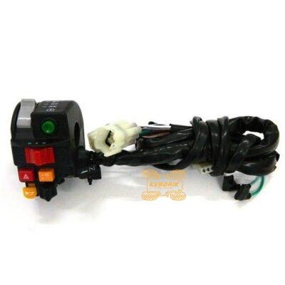 Оригинальный блок переключателей на руль левый для квадроциклов CFMoto 800 X5 7020-160600