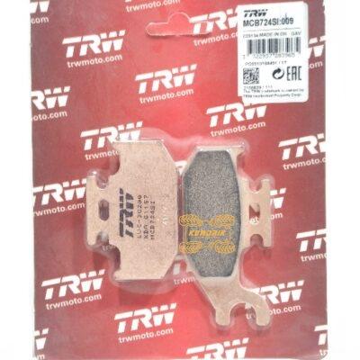 Тормозные колодки TRW для квадроциклов Can Am OUTLANDER G1, CAN-AM RENEGADE G1, BRP TRAXTER , YAMAHA GRIZZLY 450, YAMAHA KODIAK 400/450 MCB724SI, FA307