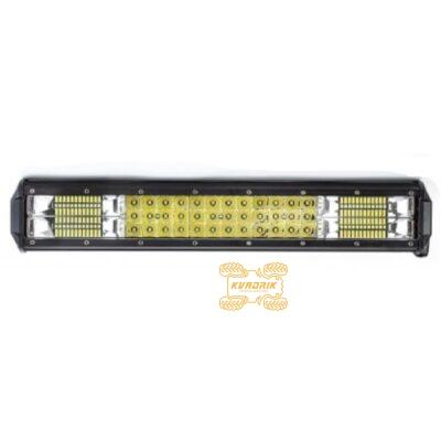 Фара, прожектор, светодиодная балка для квадроциклов, багги, джипов, внедорожников — 126W 45см дальний + ближний свет LB0078