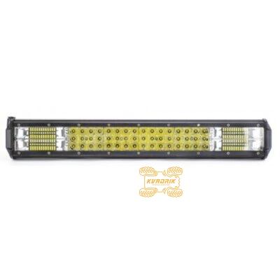 Фара, прожектор, светодиодная балка для квадроциклов, багги, джипов, внедорожников — 144W 52см дальний + ближний свет LB0079