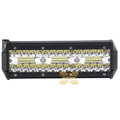 Фара, прожектор, светодиодная балка для квадроциклов, багги, джипов, внедорожников — 90W 23см дальний + ближний свет    LB0088