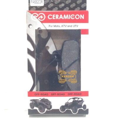 Тормозные колодки CERAMIC-ON для Can-Am Maverick X3, Defender, Traxter левые FA682OR