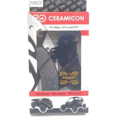 Тормозные колодки CERAMIC-ON для Can-Am Maverick X3, Defender, Traxter правые  FA683OR